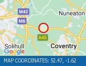 Traffic Location - 52.47,-1.62