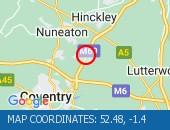Traffic Location - 52.48,-1.4