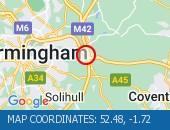 Traffic M6 - 52.48,-1.72
