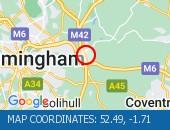 Traffic Location - 52.49,-1.71