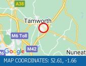 Traffic Location - 52.61,-1.66