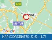 Traffic Location - 52.62,-1.72