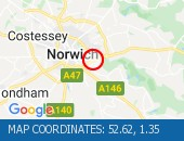 Traffic Location - 52.62,1.35