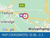Traffic Location - 52.66,-2.3