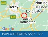 Traffic Location - 52.87,-1.37