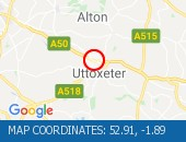 A50 Uttoxeter