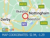 Traffic Location - 52.94,-1.29
