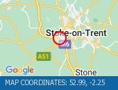 Traffic M6 - 52.99,-2.25