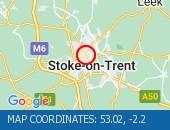 Traffic Location - 53.02,-2.2