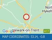 Traffic Location - 53.14,-0.8