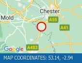 Traffic Location - 53.14,-2.94
