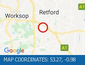 Traffic Location - 53.27,-0.98