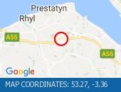 Traffic Location - 53.27,-3.36