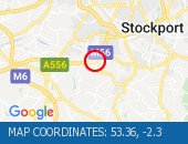 Traffic Location - 53.36,-2.3