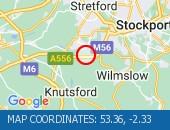 Traffic Location - 53.36,-2.33