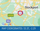 Traffic Location - 53.37,-2.29