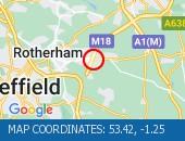 Traffic Location - 53.42,-1.25
