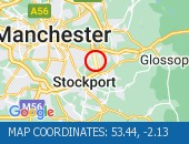 Traffic Location - 53.44,-2.13