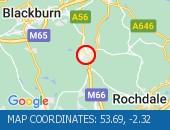 Traffic Location - 53.69,-2.32