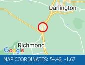 Traffic Location - 54.46,-1.67