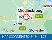 Traffic Location - 54.54,-1.28