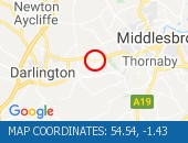 Traffic Location - 54.54,-1.43