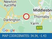 Traffic A66 - 54.54,-1.43