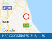 Traffic Location - 54.8,-1.36
