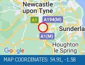 Traffic Location - 54.91,-1.58