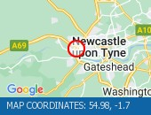 Traffic Location - 54.98,-1.7