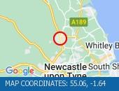 Traffic Location - 55.06,-1.64