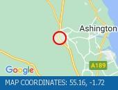 Traffic Location - 55.16,-1.72