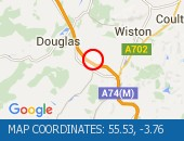 Traffic Location - 55.53,-3.76