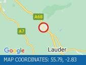 Traffic Location - 55.79,-2.83