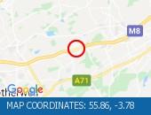 Traffic Location - 55.86,-3.78