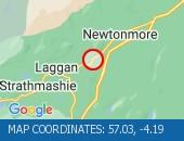 Traffic Location - 57.03,-4.19