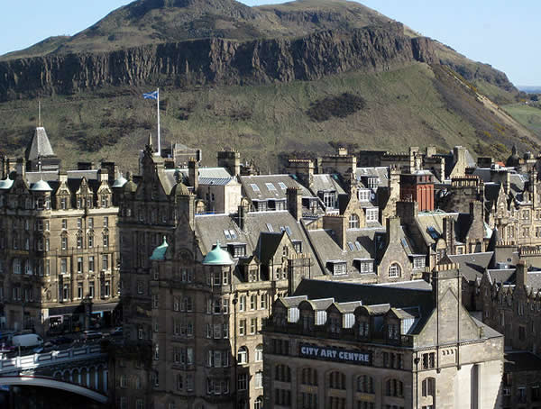 Edinburgh in dramatic pollution increase